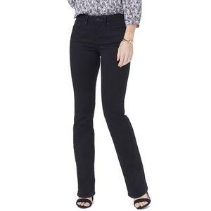 NYDJ Barbara Black Bootcut Jeans MBDMBB2339 12